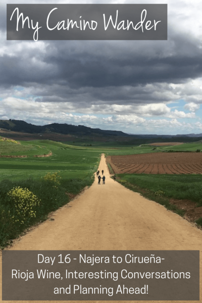 Day 16 of the Camino Wander | Travel Far Enough | I spent part of the day having varied conversations that span from bathrooms and blisters to career choices and corporate ethics. Ah, the Camino...