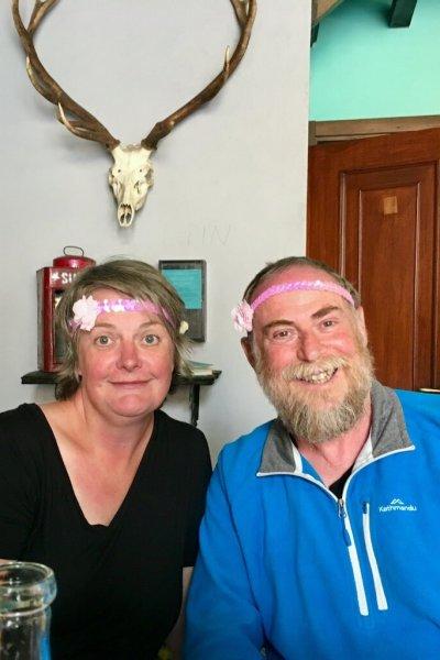 Jerry and I -  yep, crazy kids.