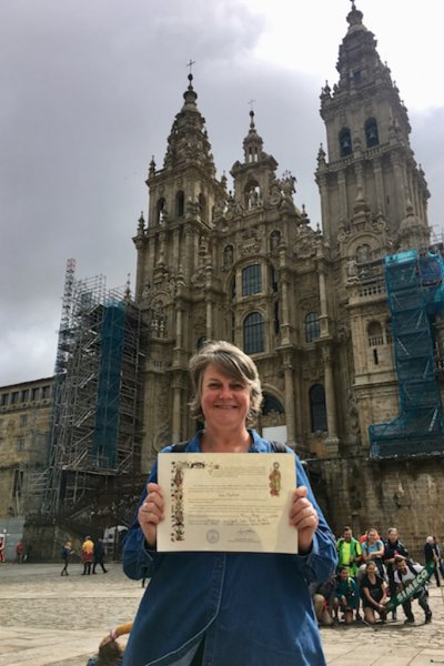 I even have the Compostela and Distance Certificate to show for it.