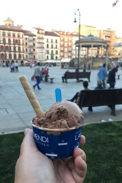 Ice Cream in The Piazza