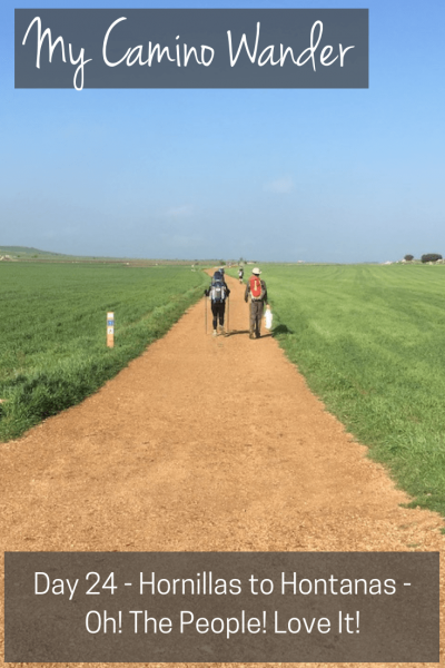 Day 24 of the Camino Wander | Travel Far Enough | A short jaunt today where the kilometres went by quickly due to happiness and good conversations on the way. It's the people that make the Camino special.