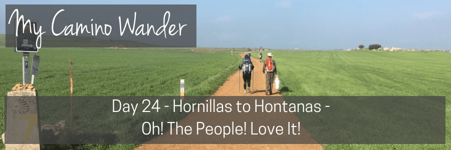 day 24 of the camino wander.POST