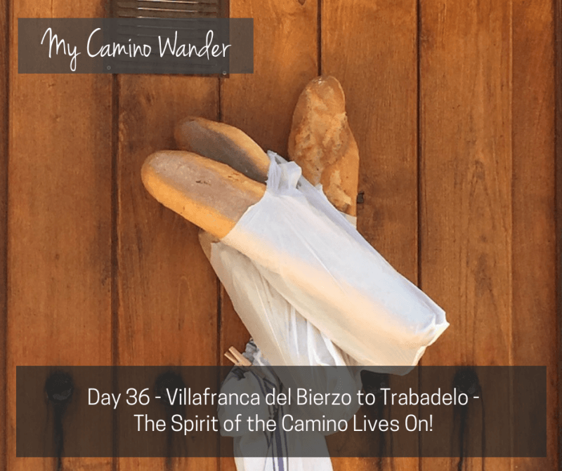 Day 36 of the Camino Wander – The Spirit of the Camino Lives On!