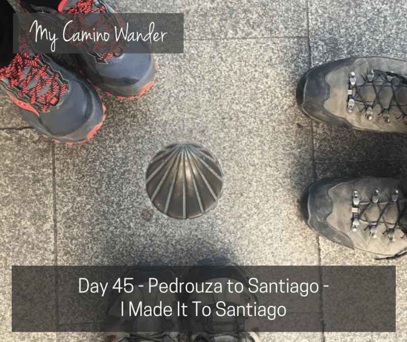 Day 45 of the Camino Wander – I Made It To Santiago