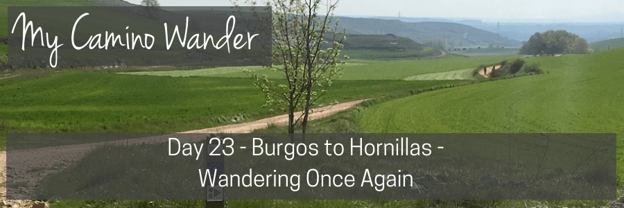 day 23 of the camino wander.POST