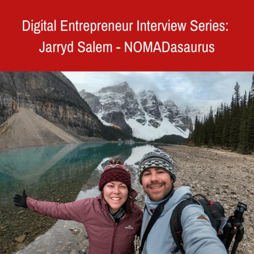 Digital Entrepreneur Interview Series: NOMADasaurus