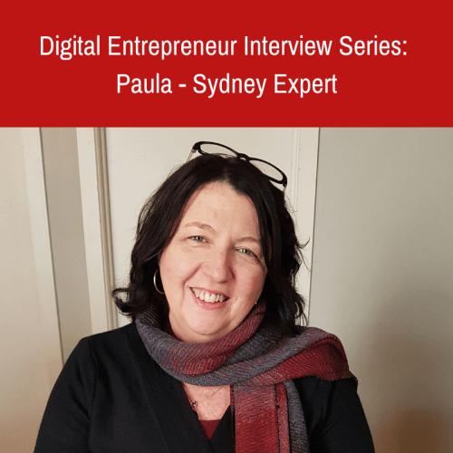 Digital Entrepreneur Interview Series:  Sydney Expert