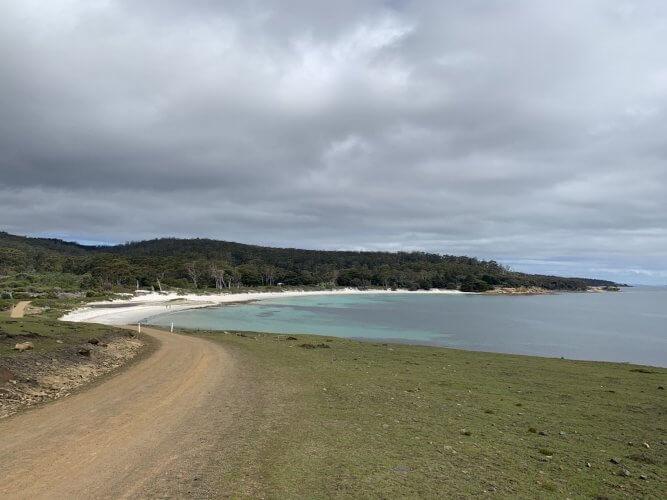 Hopground Beach on Maria Island